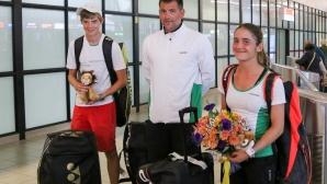 Младите ни тенис таланти се прибраха след големия успех в Италия