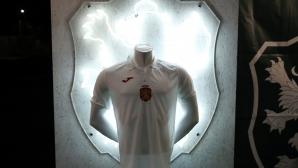 Официален фен шоп е отворен преди мача с Кипър