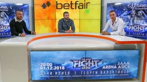 ММА боецът Георги Валентинов и кикбоксьорът Даниел Илиев в студиото на Sportal TV