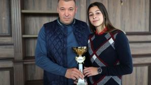 Александра Начева е най-добрият млад спортист на България за 2018 г.