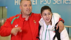 Александра Начева се прибра от Европейското