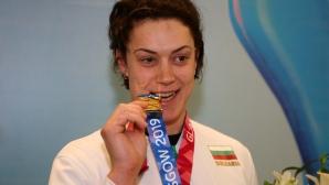 Европейската шампионка Радослава Мавродиева се завърна в България