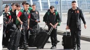 Младежкият национален отбор по футбол замина на лагер в Марбея