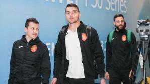Националният отбор по футбол се прибира от Kосово