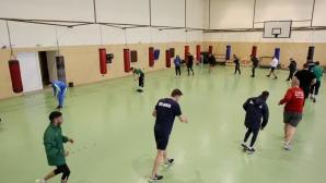 Тренировка на националния отбор по бокс