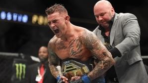 Дъстин Порие надви Макс Халауей за междинния пояс в лека категория на UFC 236