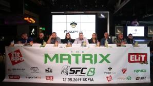 "Пресконференция ММА SFC8 ""The Matrix"""