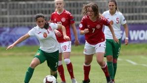 България - Дания U17