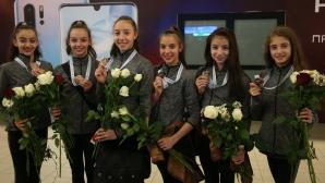 Гимнастичките кацнаха в София след Европейското