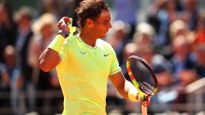 Надал се разправи с Федерер