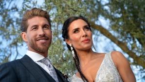 Рамос и Пилар Рубио минаха под венчилото