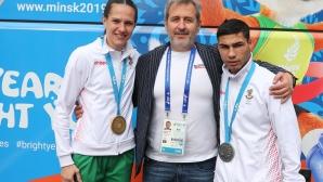 Даниел Асенов остана със сребърен медал от Европейските игри