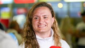 Медалистките от Европейското първенство в Минск се завърнаха на родна земя