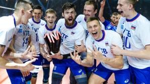 Русия би САЩ и защити титлата си в Лигата на нациите