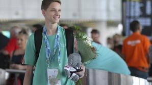 Денис Димитров се завърна със сребърен медал от световното първенство по таекуондо