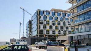 Вижте как върви строежът на новата зала на волейболния Левски