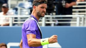 Григор е на четвъртфинал на US Open