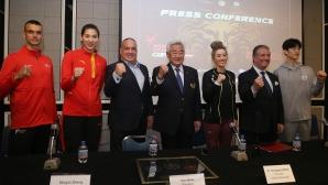 Пресконференция за световните серии по таекуондо в София