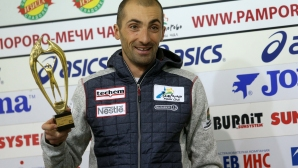 Пресконференция на биатлониста Владимир Илиев