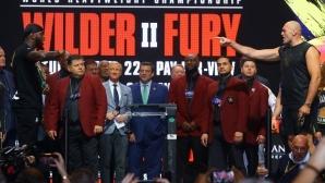 Тайсън Фюри и Дионтей Уайлдър по-тежки в сравнение с първия мач