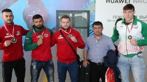 Щангисти станали шампиони на олимпийския квалификационен турнир в Малта се прибраха