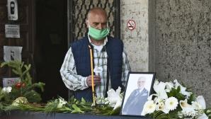 Десетки си казаха последно сбогом с Тодор Симов