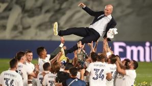Реал Мадрид е новият шампион на Испания
