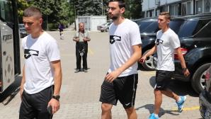 Отборът на Славия замина на лагер в Банско