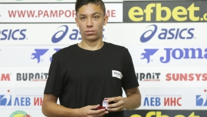Филип Кръстев бе избран за играч на месеца