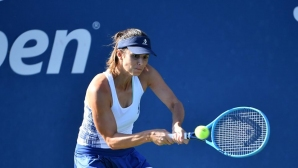 Цвети Пиронкова продължава със страхотните победи на US Open