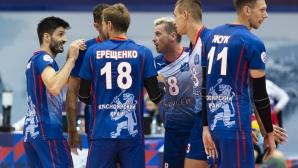 Феноменален Тодор Скримов заби 19 точки (7 аса)и донесе победа на Енисей