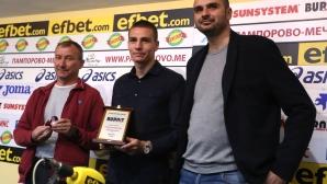 ЦСКА-София и Стамен Белчев са отбор и треньор на месец Септември