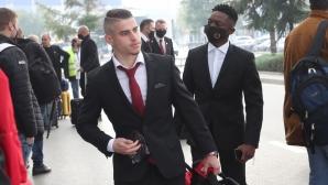 ЦСКА-София замина за Рим