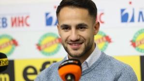 Боби Цонев бе избран за играч на месец Септември