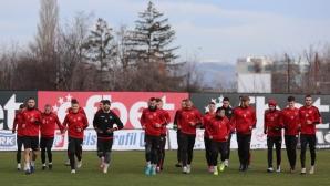 Локомотив (София) с първа тренировка за 2021