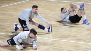 Тренировка на НО по волейбол