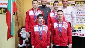Националният отбор по гимнастика за младежи е отбор на месец декември