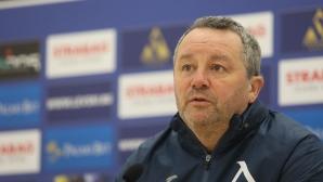 Славиша Стоянович с последните новини от лагера на Левски преди гостуването на Етър