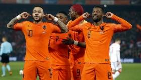Мемфис Депай беше неудържим при победата на Холандия с 4:0 над Беларус
