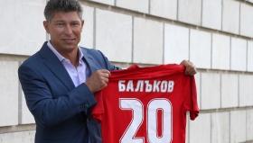 Красимир Балъков е новият треньор на ЦСКА 1948
