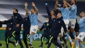 Радост за Лацио в дербито на Рим