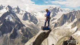 вр. Aiguille du Moine 3412m, Алпи.