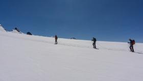 Успяхме да преминем ледника.
