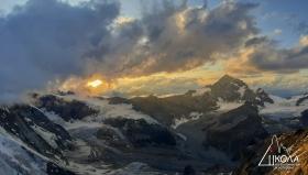 Нашата предстояща цел - изкачване на вр. Матерхорн 4478м.