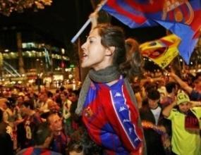 107 ранени и 29 арестувани след триумфа на Барселона