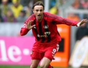 Бербатов на трето място в Бундеслигата, според футболистите
