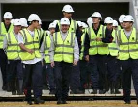 """Английският тим се надъхва за световното с посещение на новия """"Уембли"""""""