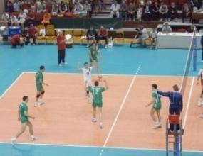 Бием Хърватия на волейбол в контрола
