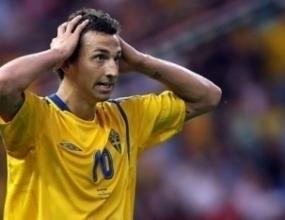 Ибрахимович се контузил на загрявката преди мача с Парагвай