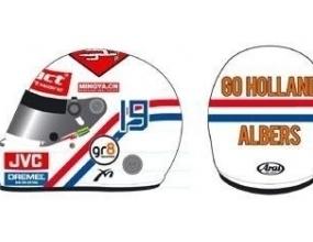 Алберс ще кара в Канада със специална каска за Мондиал 2006